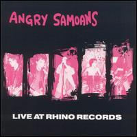 Live at Rhino Records de Angry Samoans - Punk-Rock
