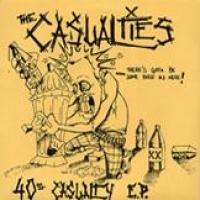 40 Ounce Casualty de Casualties - Street Punk / Oï
