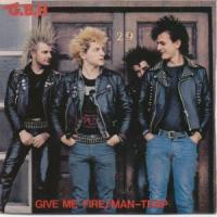 Give Me Fire / Man-Trap de GBH - Street Punk / Oï