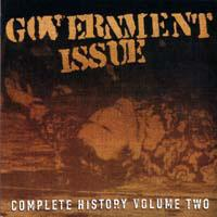 Complete History, Vol. 2 de Government Issue - Hardcore