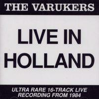 Live In Holland de Varukers - Punk-Hardcore