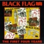 The First Four Years de Black Flag - Hardcore