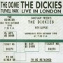 Live In London de Dickies - Punk-Rock