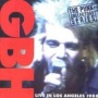 Live in Los Angeles (GBH) de GBH - Punk-Hardcore